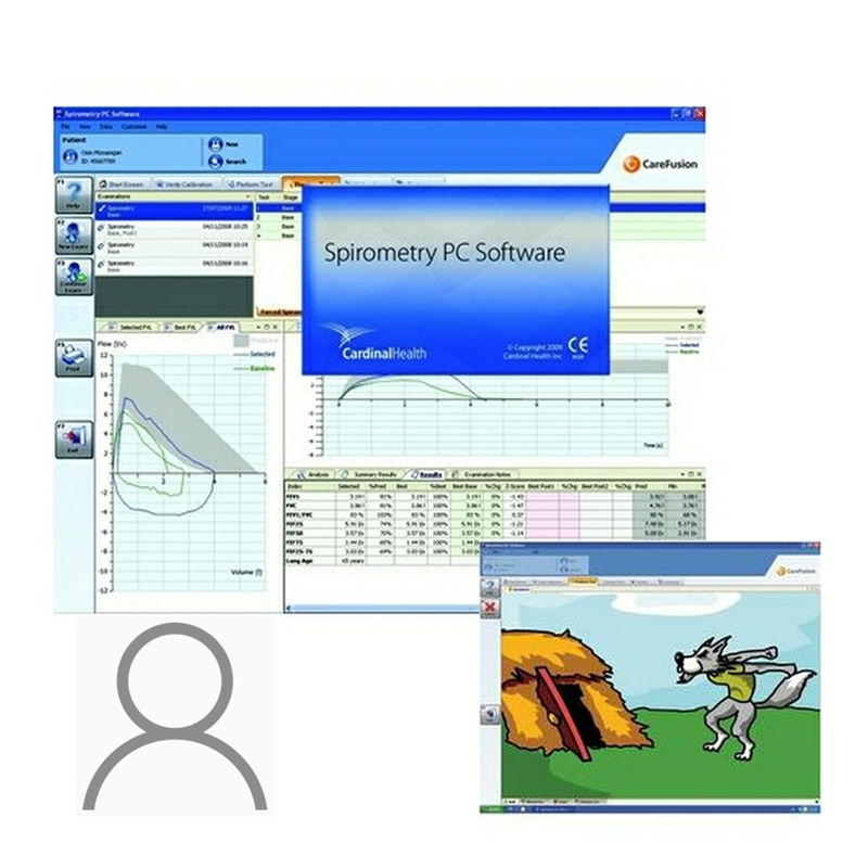 Spirometry PC Software Extra User Licence